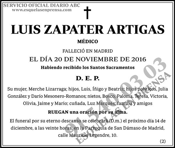 Luis Zapater Artigas
